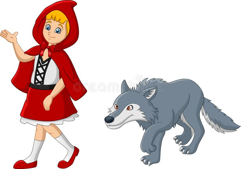 Little Red Riding Hood Wolf Stock Illustrations 481 Little Red