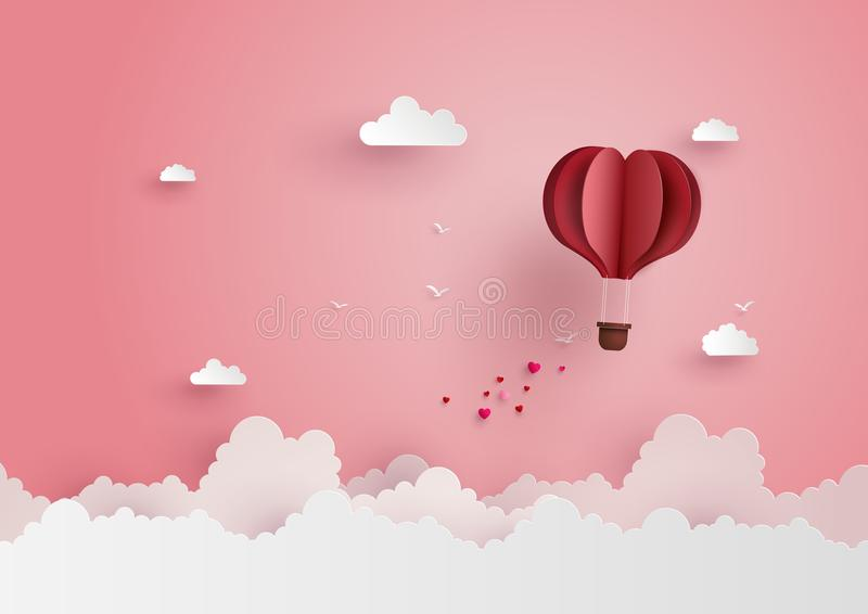 Illustration Of Love And Valentine Day Stock Vector - Illustration ...