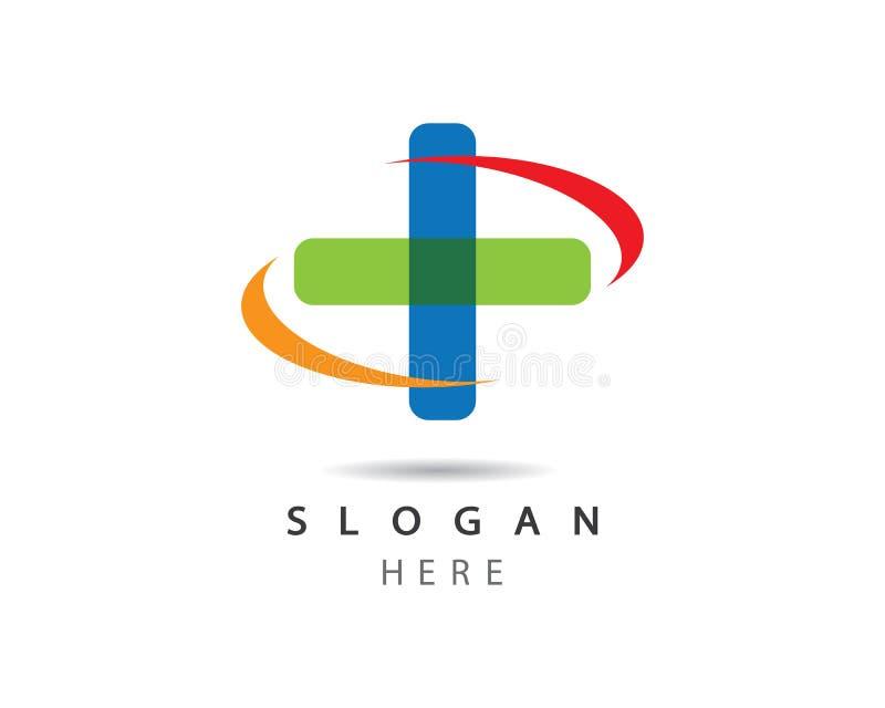 Illustration médicale de symbole illustration stock