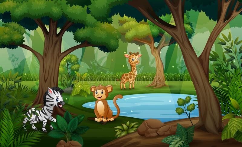 Cartoon Waterhole Stock Illustrations 106 Cartoon Waterhole Stock Illustrations Vectors Clipart Dreamstime