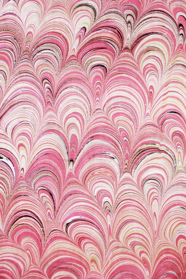 illustration marmorerat papper