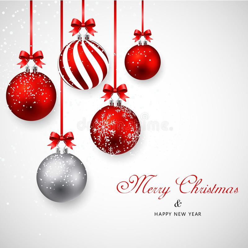 Merry christmas and Happy New year. royalty free stock photography