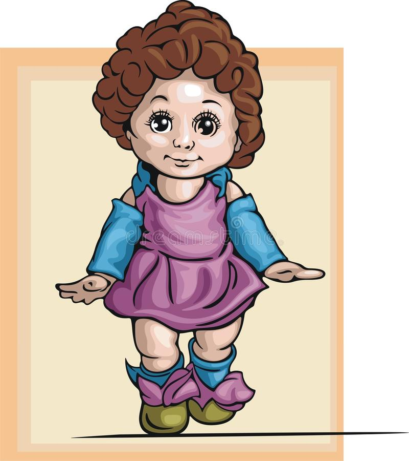 Illustration mignonne de bébé illustration stock