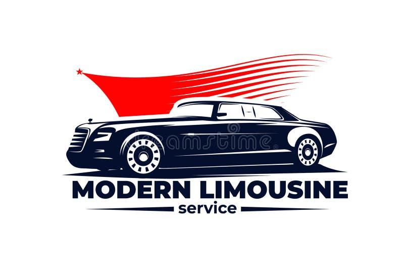 Illustration moderne ENV 10 de vecteur de limousine illustration de vecteur