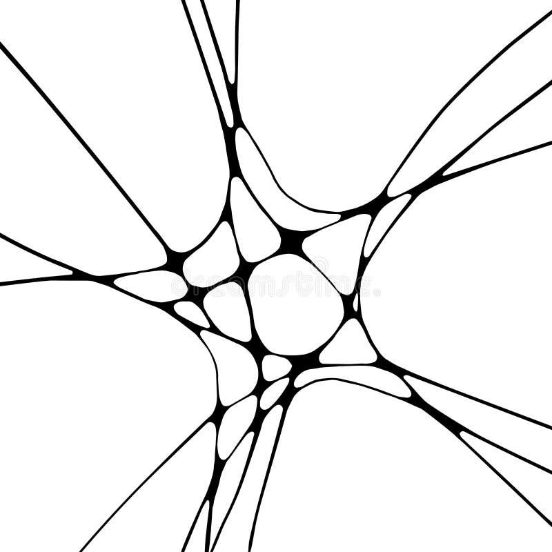 Illustration monochrome graphique photo stock