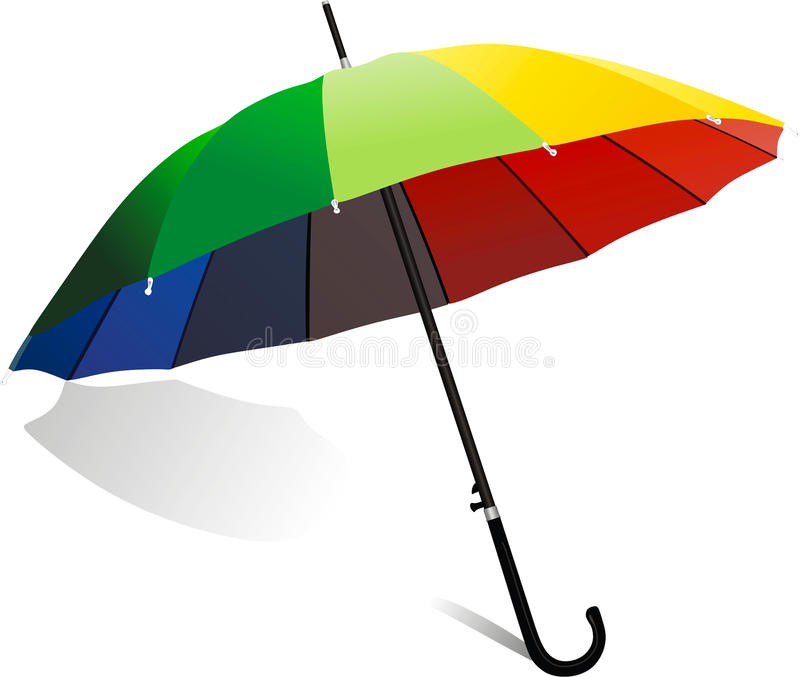 Download Umbrella stock vector. Illustration of color, outdoor - 30307476