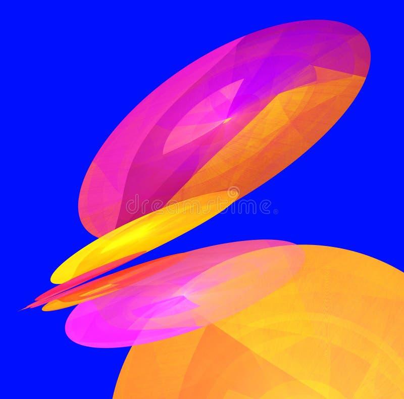 Illustration multicolore de milieux abstraits illustration libre de droits