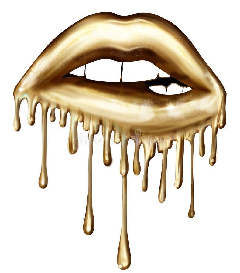 Free Illustration Of Biting Dripping Lips - Graphic Illustration Stock Photos - 150840153