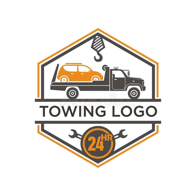 Free Illustration Of Towing Service. Stock Photography - 209960072