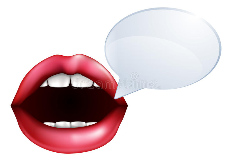 Talking Mouth Vector