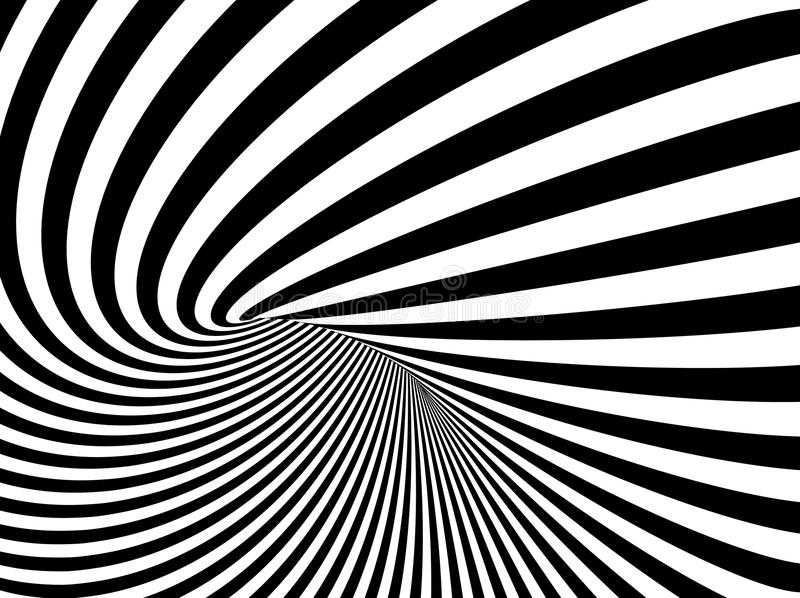 An illustration of Optical Illusion Vector Background vector illustration