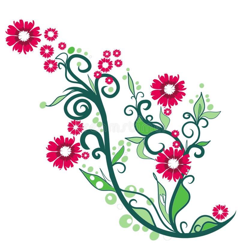 Illustration ornementale florale illustration stock