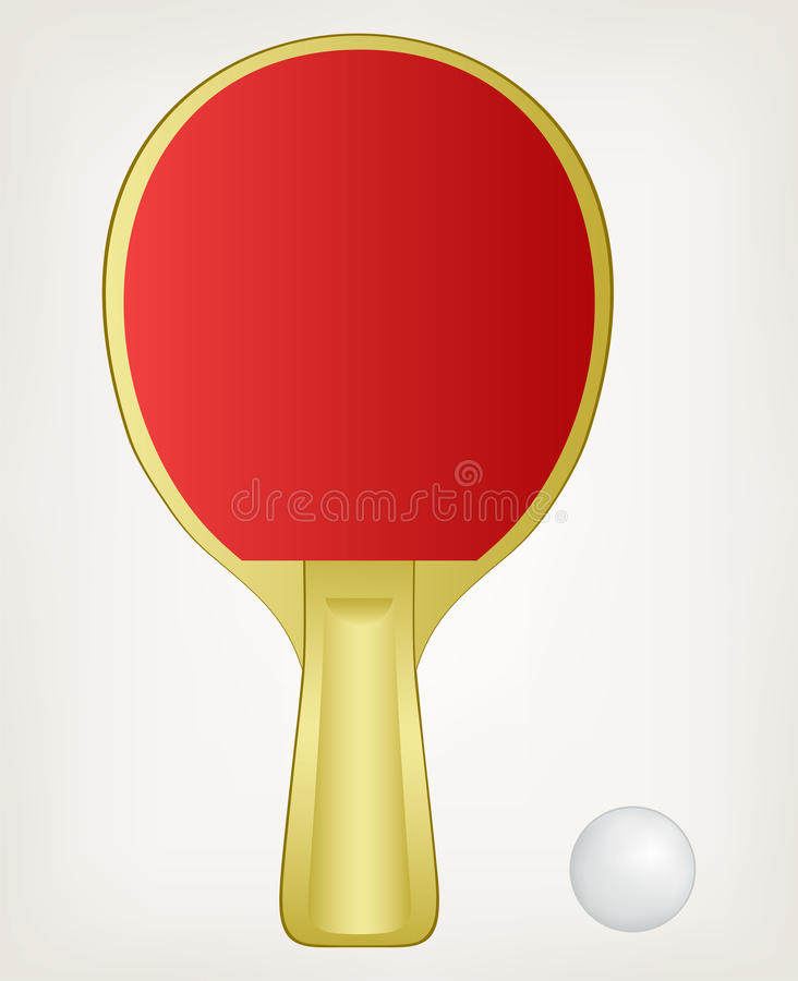 Download Illustration ping pong stock vector. Image of icon, championship - 29179170
