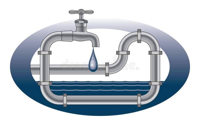 Download Dripping Faucet Plumbing Design Stock Vector - Illustration of illustration, dripping: 29980828