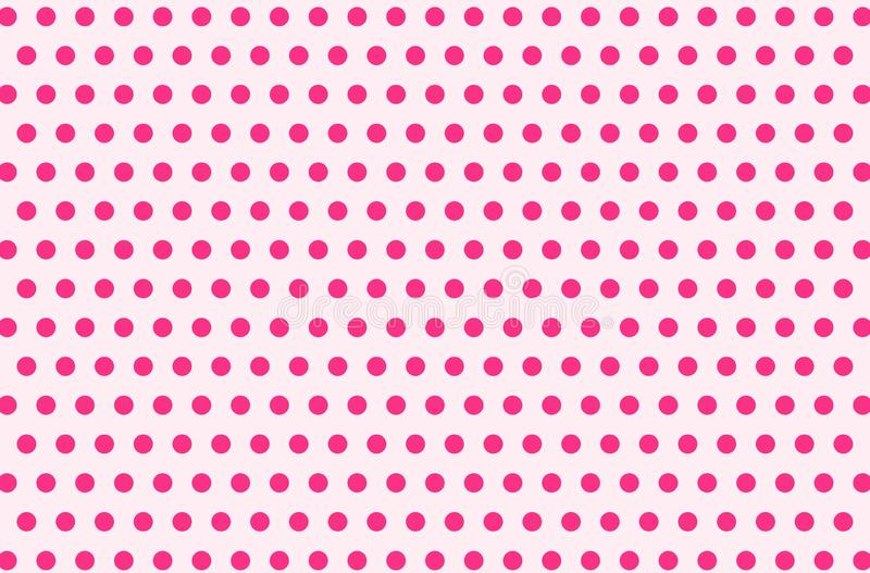 Illustration of polka dots pattern background. vector illustration