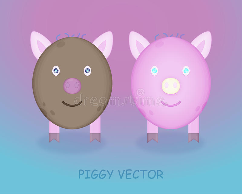 Illustration porcine photographie stock libre de droits