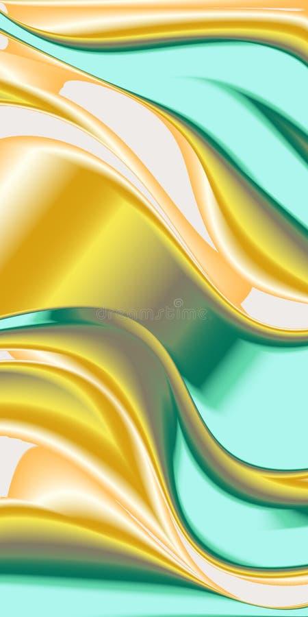 Illustration pour la conception de bannière Vecteur en métal photographie stock