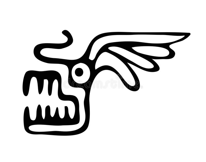 Illustration principale de dragon illustration libre de droits