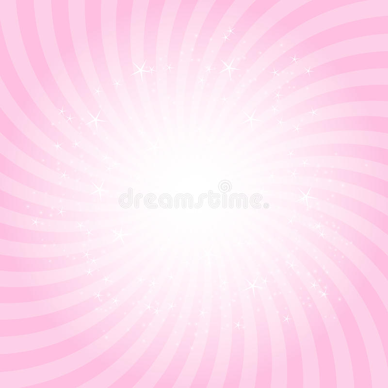 Illustration Prinzessin-Abstract Background Vector stock abbildung