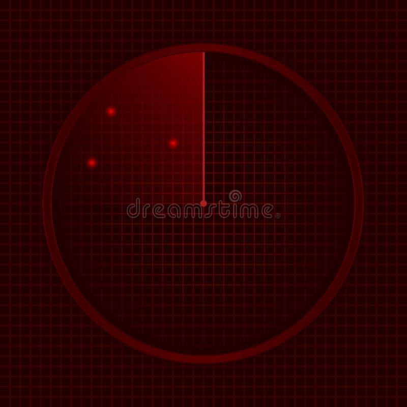Illustration of Radar vector illustration