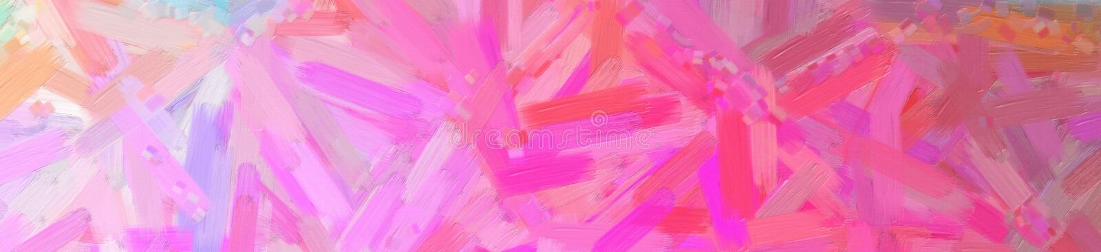 Illustration of red Oil Paint with big brush background, abstract banner. Illustration of red Oil Paint with big brush background, abstract paint stock photos