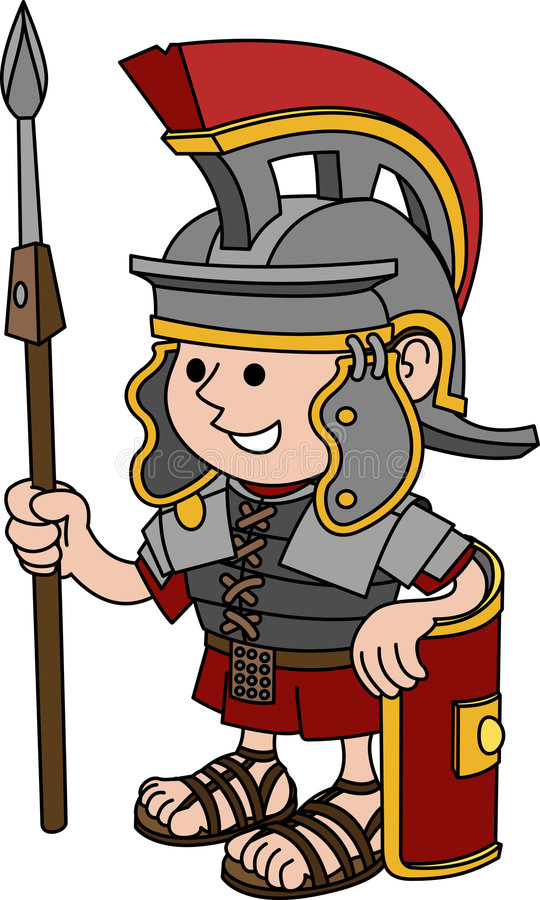 Download Illustration Of Roman Soldier Stock Vector - Image: 6888903