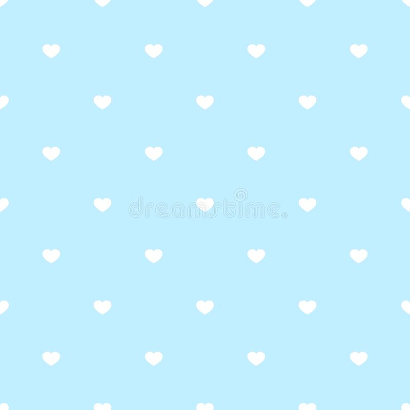 Illustration romantique de vecteur de carte cadeaux de mariage de modèle de coeurs de jour de valentines de fond d'amour de vacan illustration libre de droits