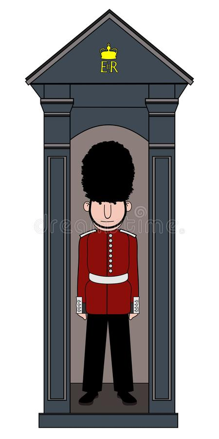 Queens guard royalty free stock images