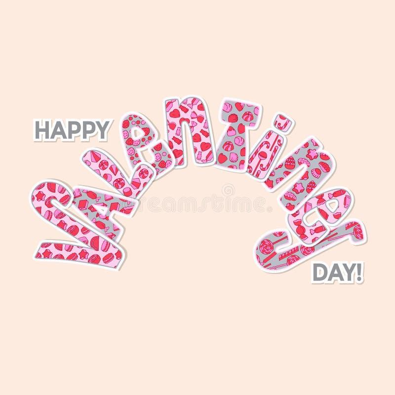 illustration s för hjärta för green för dreamstime för kortdagdesignen stylized valentinvektorn vektor illustrationer