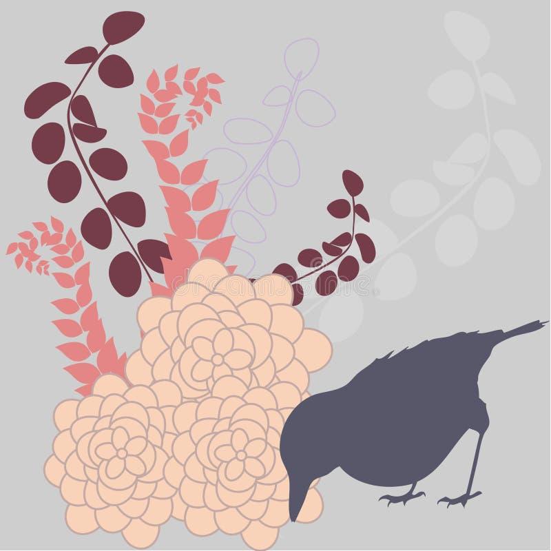 Illustration saisonnière abstraite illustration libre de droits