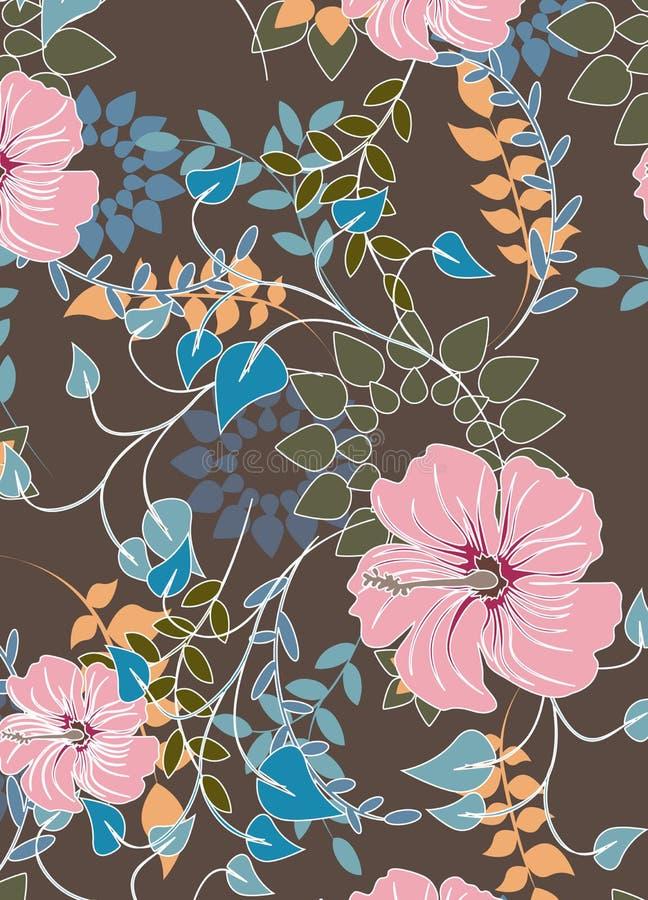 Download Illustration Sans Couture De Fleur De Ressort Illustration de Vecteur - Illustration du mousse, tuile: 56477582
