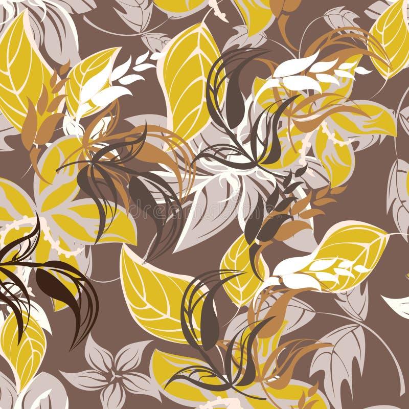 Download Illustration Sans Couture De Fleur De Ressort Illustration de Vecteur - Illustration du lame, conception: 56478181
