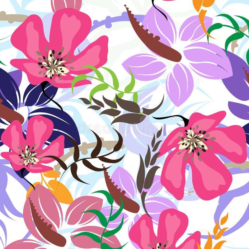 Download Illustration Sans Couture De Fleur De Ressort Illustration de Vecteur - Illustration du contemporain, subtile: 56481911