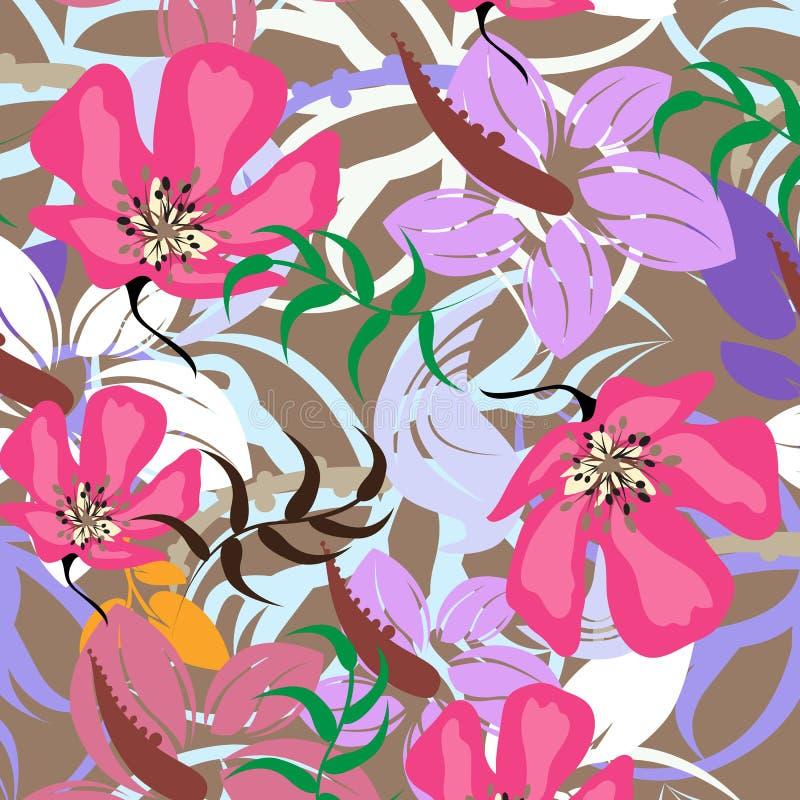 Download Illustration Sans Couture De Fleur De Ressort Illustration de Vecteur - Illustration du pétale, conception: 56482937