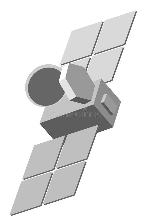 Download Illustration of satellite stock vector. Image of illustration - 15141428
