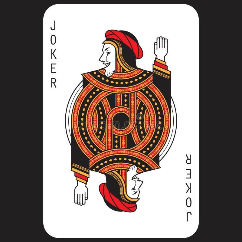 Card Poker Joker royalty free stock image