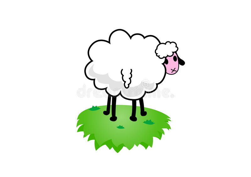Download Illustration Of Sheep. Vector Stock Image - Image: 2322271