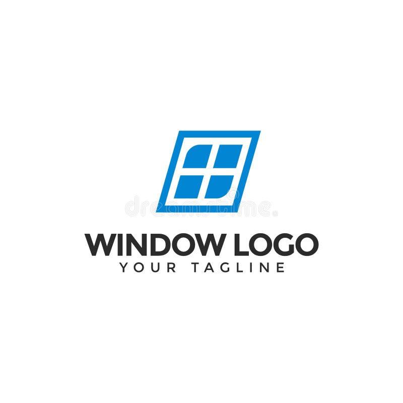 Simple Window Logo Design Template stock photography