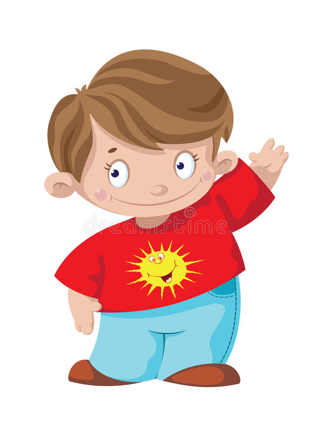 Download Smiling boy stock vector. Illustration of funny, young - 29972389