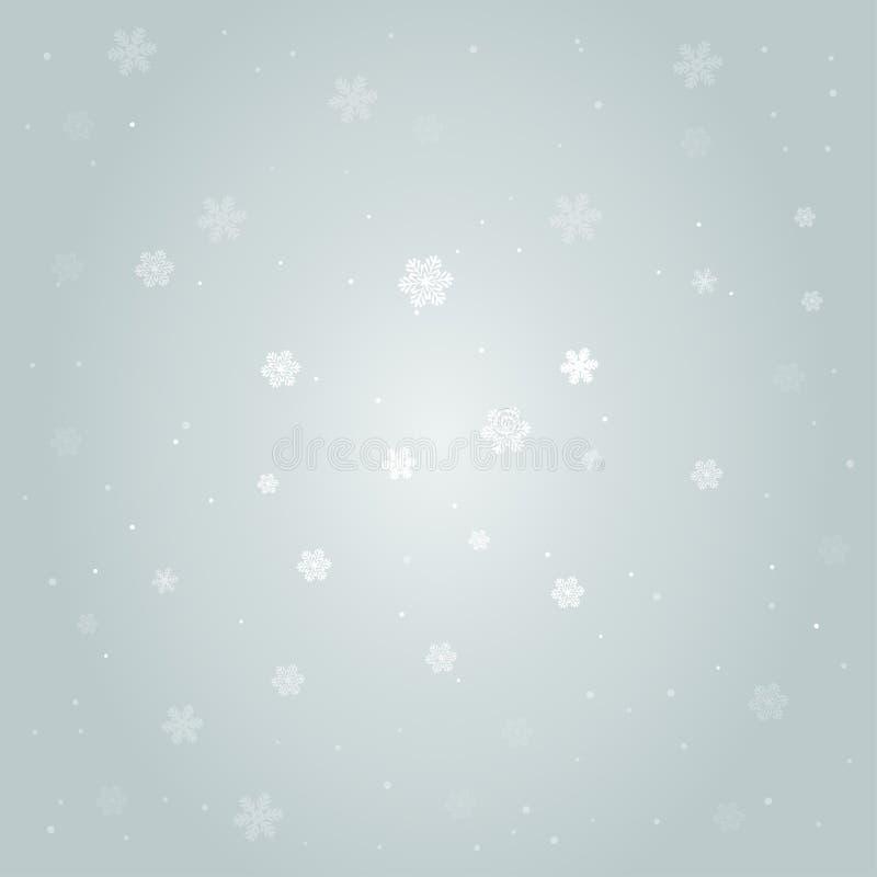 Illustration of snow background, christmass mood. Bunners, posters. Illustration of snow background christmass mood. Bunners, posters, background with winter vector illustration