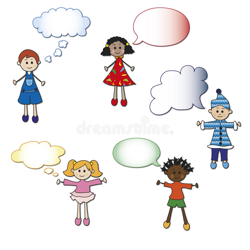 Children stock illustration