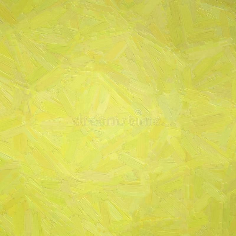 Illustration of Square yellow Oil paint with large brush strokes background. Illustration of Square yellow Oil paint with large brush strokes background royalty free stock photo