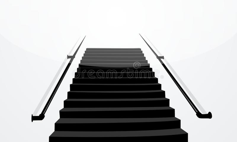 illustration of stairs royalty free stock photo