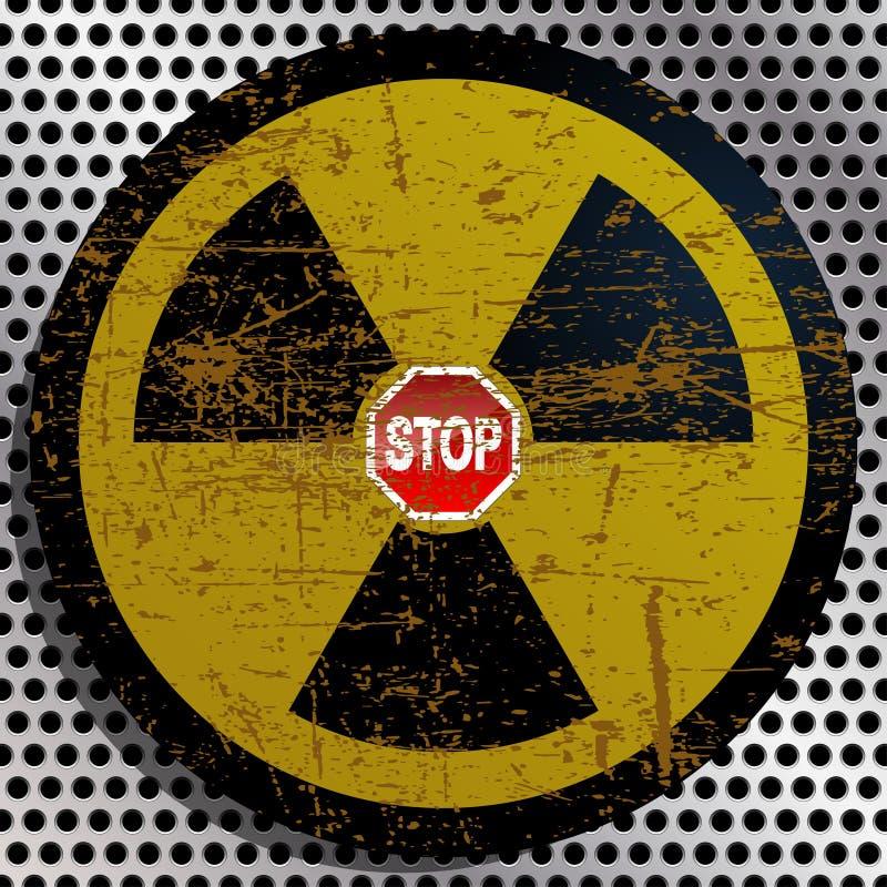 Stop Radiation Royalty Free Stock Photos
