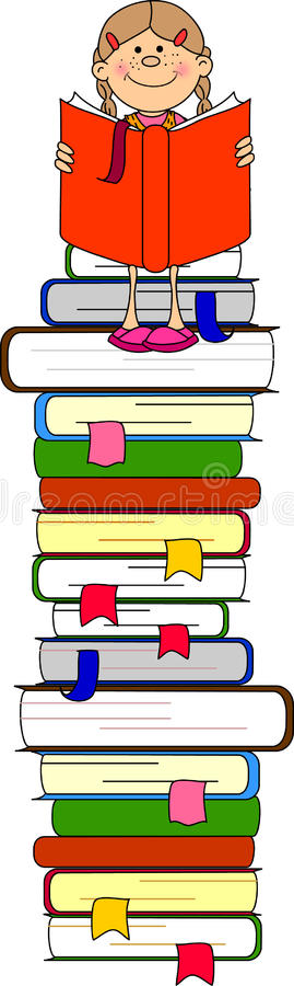 Download Illustration Of Students And Books,vector Stock Vector - Image: 21726808