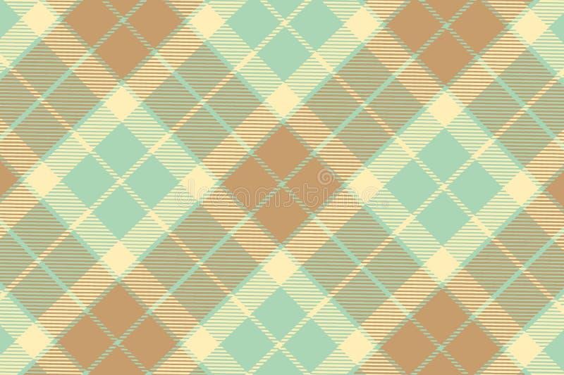 Illustration of tartan plaid. seamless pattern background. Illustration tartan plaid seamless pattern background blue green brown fabric cotton scottish gingham stock illustration