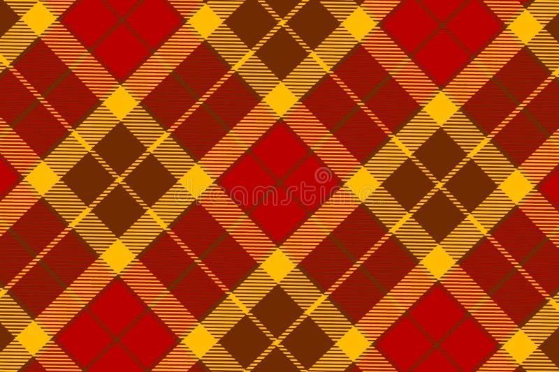 Illustration of tartan plaid. seamless pattern background. Illustration tartan plaid seamless pattern background fabric cotton wrapped repeat wallpaper backdrop stock illustration