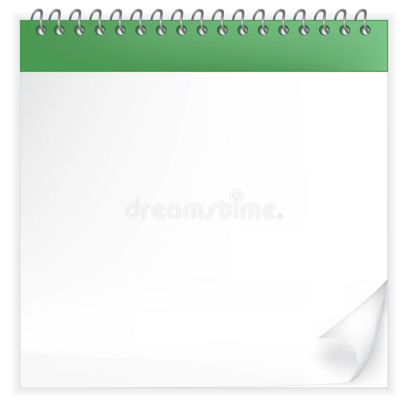 Download Illustration Of The Throw-over Calendar Stock Vector - Image: 14872740