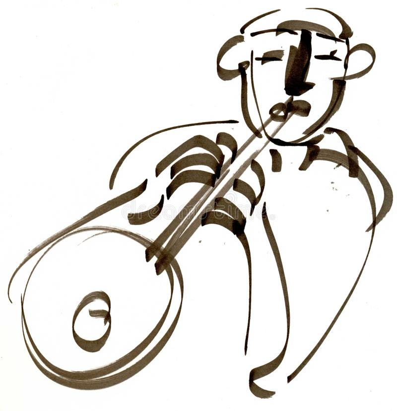 Download Illustration Traditionnelle Illustration Stock - Illustration du mâle, yeux: 77159100
