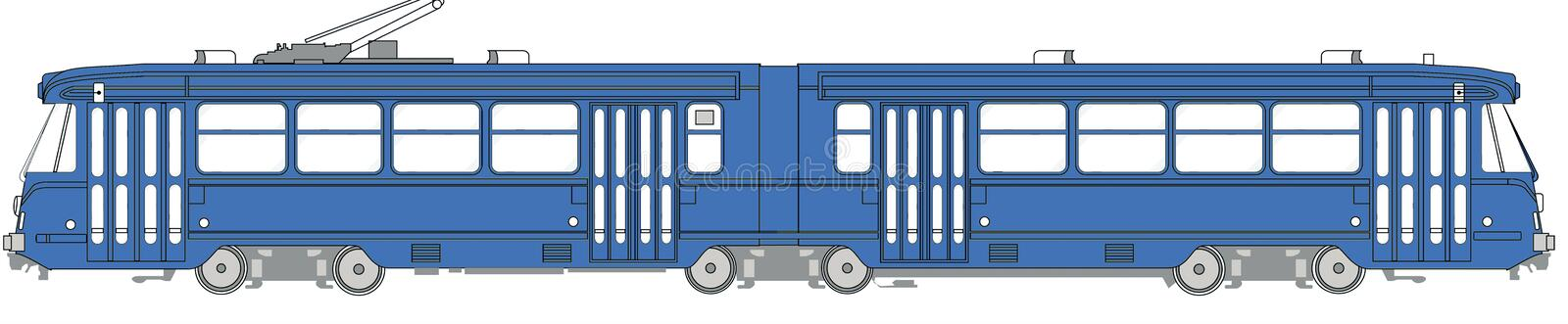 Illustration Of A Tramway Stock Photos